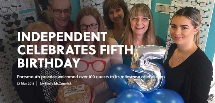 Independent celebrates fifth birthday
